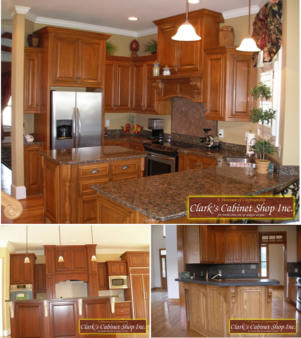 Custom Cabinets For Your Home  Clark's Cabinet Shop